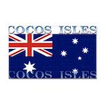 Cocos Islands 22x14 Wall Peel