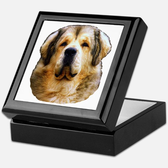 Funny Tibetan mastiff Keepsake Box