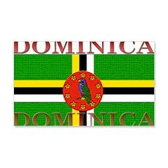 Dominica 22x14 Wall Peel