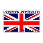 Great Britain British Flag 22x14 Wall Peel