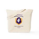 100 Years Of Women Voting Tote Bag