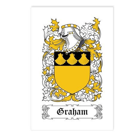 Graham Postcards (Package of 8)
