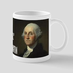 George Washington On Guns Mug
