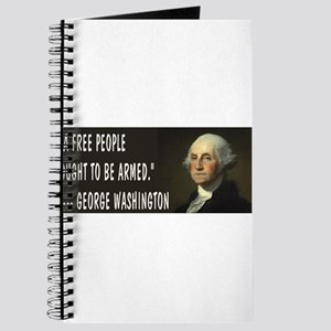 George Washington On Guns Journal