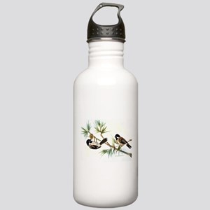 Two Chickadees Stainless Water Bottle 1.0L