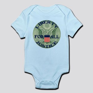 Liberty & Justice for All Infant Bodysuit