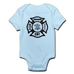 Firefighter EMT Infant Bodysuit