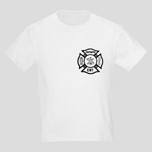 Firefighter EMT Kids Light T-Shirt
