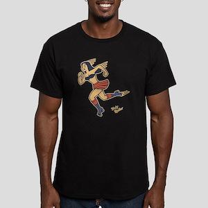 Holy Roller Men's Fitted T-Shirt (dark)