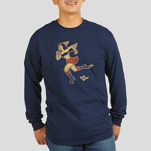 Holy Roller Long Sleeve Dark T-Shirt