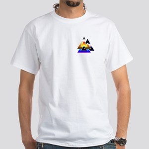 3 Times The Pride White T-Shirt