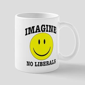 Imagine No Liberals Mug