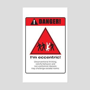 Eccentric Sticker (Rectangle)