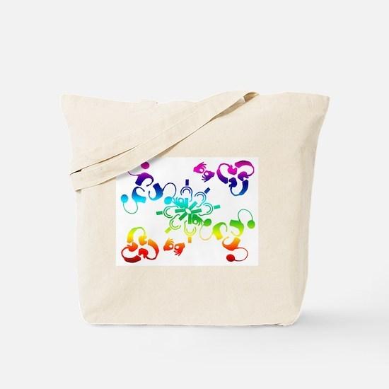 A hidden message Tote Bag