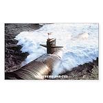 USS BUFFALO Sticker (Rectangle)