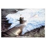 USS BUFFALO Large Poster