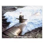 USS BUFFALO Small Poster