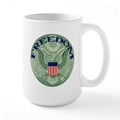 FREEDOM Eagle Large Mug