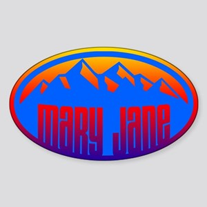 Winter Park Sticker (Oval)