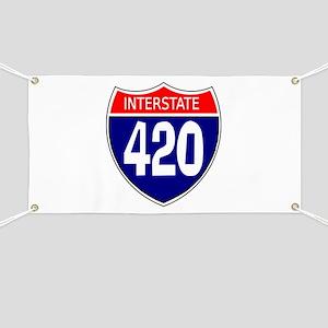 Interstate 420 Banner