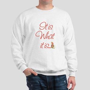 Cat Lovers It is what it is Sweatshirt