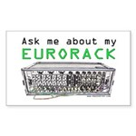 Ask Me About My Eurorack Sticker