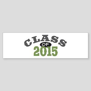 Class Of 2015 Green Sticker (Bumper)