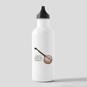 Banjo Design Stainless Water Bottle 1.0L