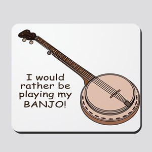 Banjo Design Mousepad