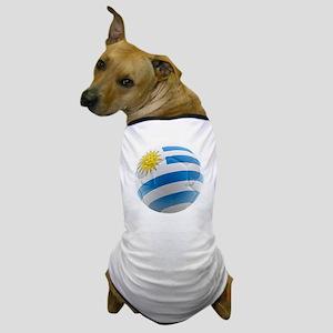 Uruguay World Cup Ball Dog T-Shirt