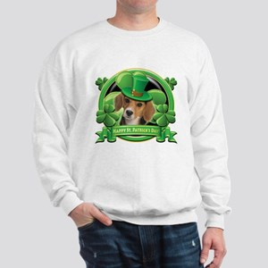 Happy St. Patrick's Day Beagle Sweatshirt