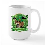 Drinking st patricks day Large Mugs (15 oz)