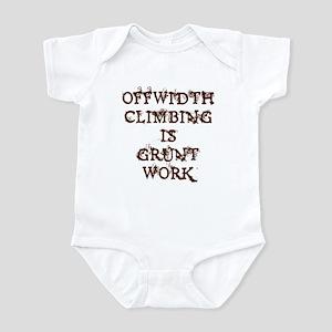 Offwidth Climbing Infant Bodysuit