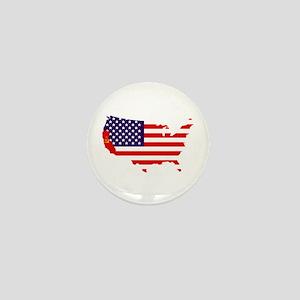 Communist California Mini Button
