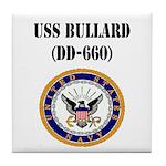 USS BULLARD Tile Coaster