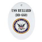USS BULLARD Ornament (Oval)