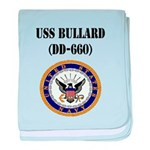 USS BULLARD baby blanket