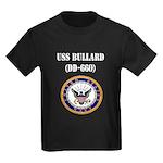 USS BULLARD Kids Dark T-Shirt