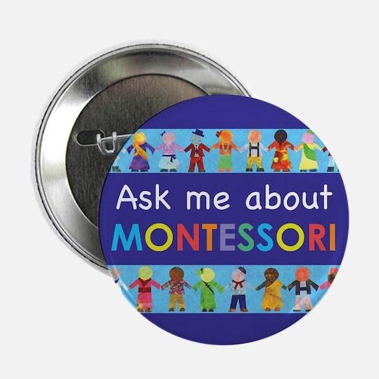"""MONTESSORI 2.25"""" Button (100 pack)"""