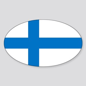 Finland Sticker (Oval)