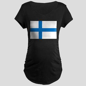 Finland Maternity Dark T-Shirt