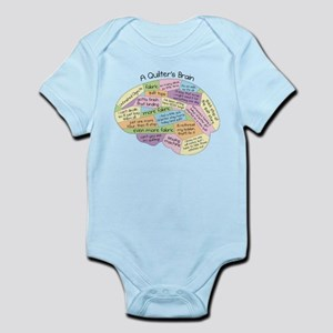 Quilter's Brain Infant Bodysuit