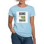 Official Earthquake Chaser Women's Light T-Shirt