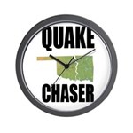 Official Earthquake Chaser Wall Clock