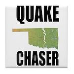 Official Earthquake Chaser Tile Coaster