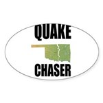 Official Earthquake Chaser Sticker (Oval 50 pk)