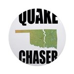Official Earthquake Chaser Ornament (Round)
