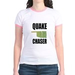 Official Earthquake Chaser Jr. Ringer T-Shirt