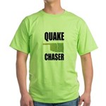 Official Earthquake Chaser Green T-Shirt