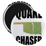 """Official Earthquake Chaser 2.25"""" Magnet (10 pack)"""